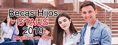 Becas Hijos STAUS 2019
